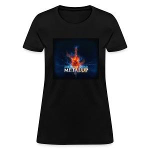 Metal Up Shirt Womens  - Women's T-Shirt
