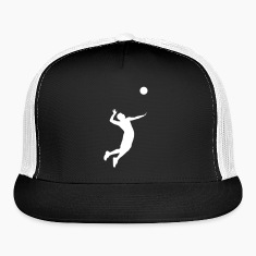 Volleyball Player Caps