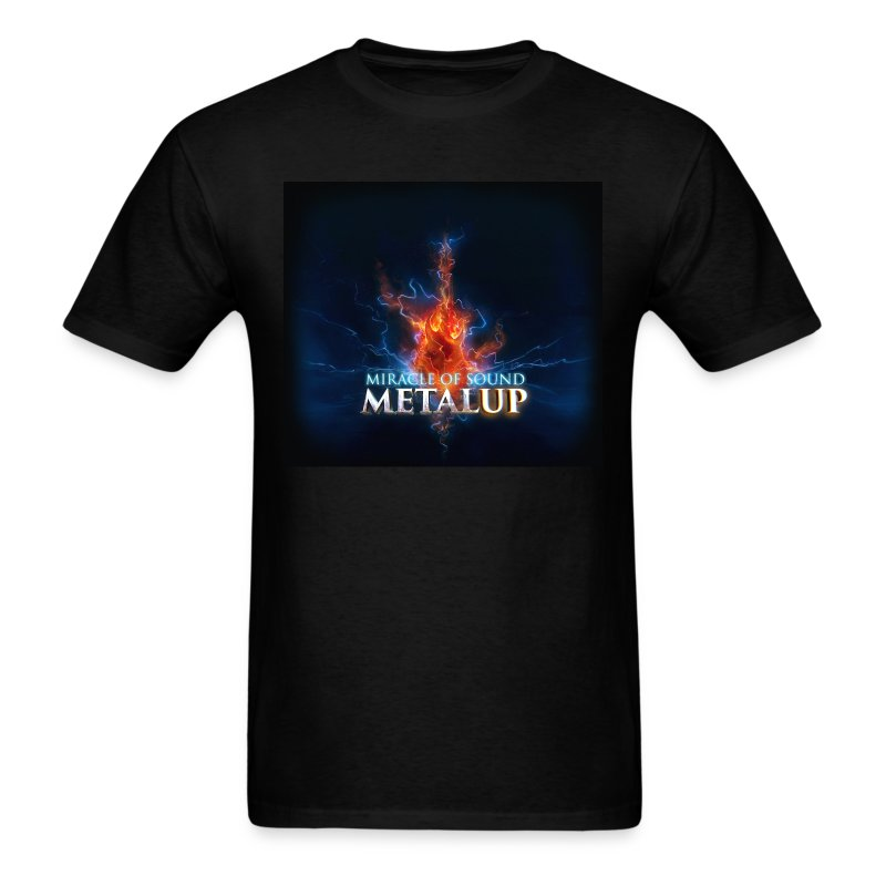 Metal Up Shirt Mens - Men's T-Shirt