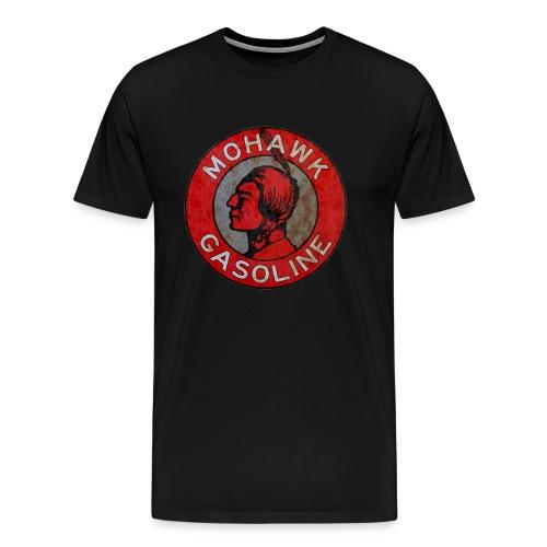 Mohawk Gasoline vintage sign rust version - Men's Premium T-Shirt