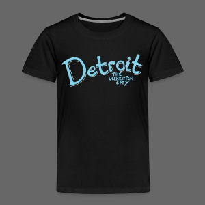 Unbeaten Detroit - Toddler Premium T-Shirt