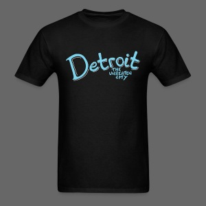 Unbeaten Detroit - Men's T-Shirt