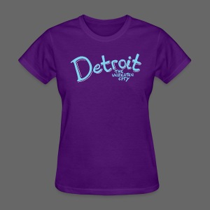 Unbeaten Detroit - Women's T-Shirt