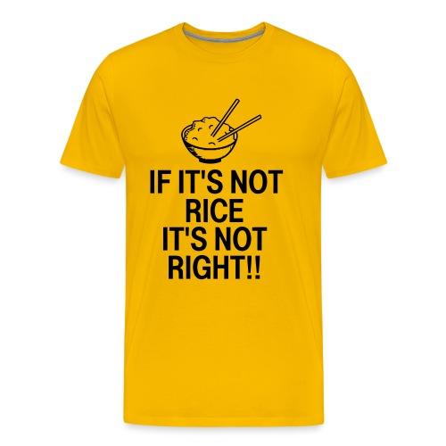 It's Not Right - Men's Premium T-Shirt