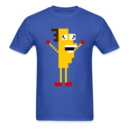 Taco-Man 8-bit - Men's T-Shirt