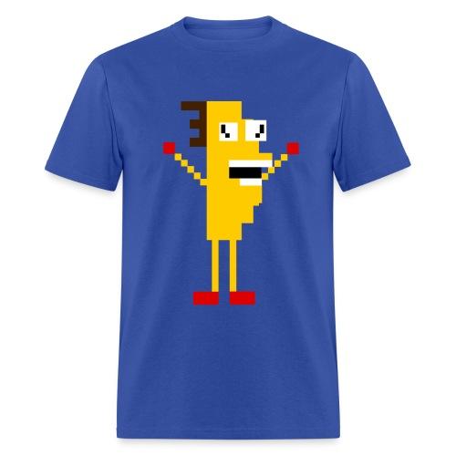 Taco-Man 8-bit - Men's T-Shirt