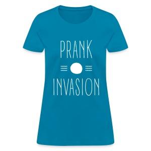 PrankInvasion Female Design - Women's T-Shirt