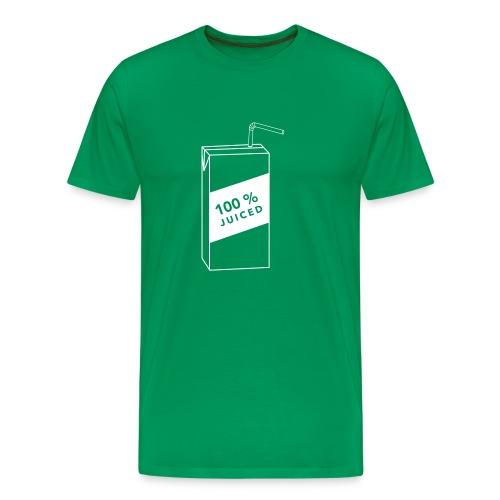 100% Juiced shirt - Men's Premium T-Shirt