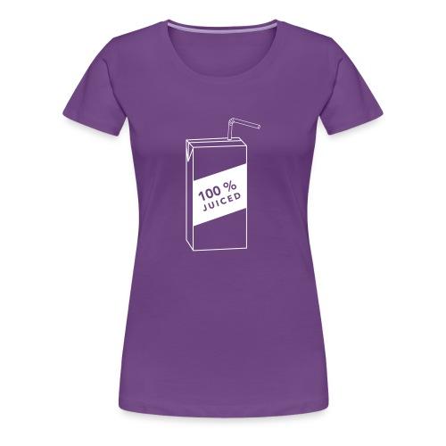 100% Juiced Shirt - Women's Premium T-Shirt