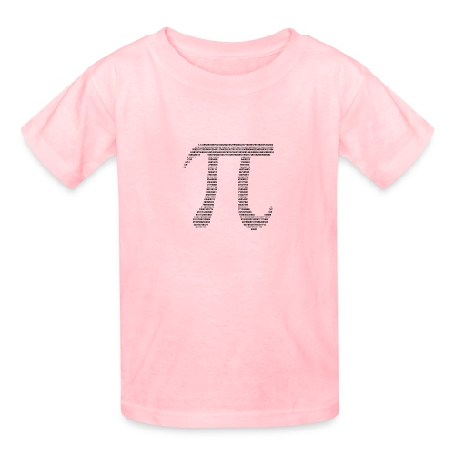 Gender Neutral Pi Numbers Tee - Kids' T-Shirt