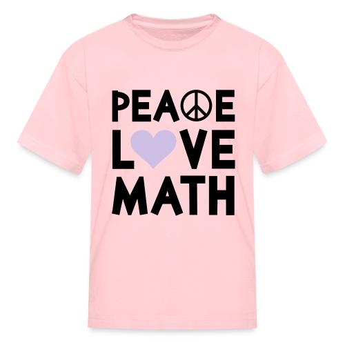 Gender Neutral Peace Tee - Kids' T-Shirt