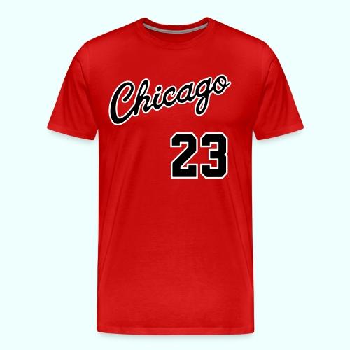 Chicago Basketball T-Shirt - Men's Premium T-Shirt