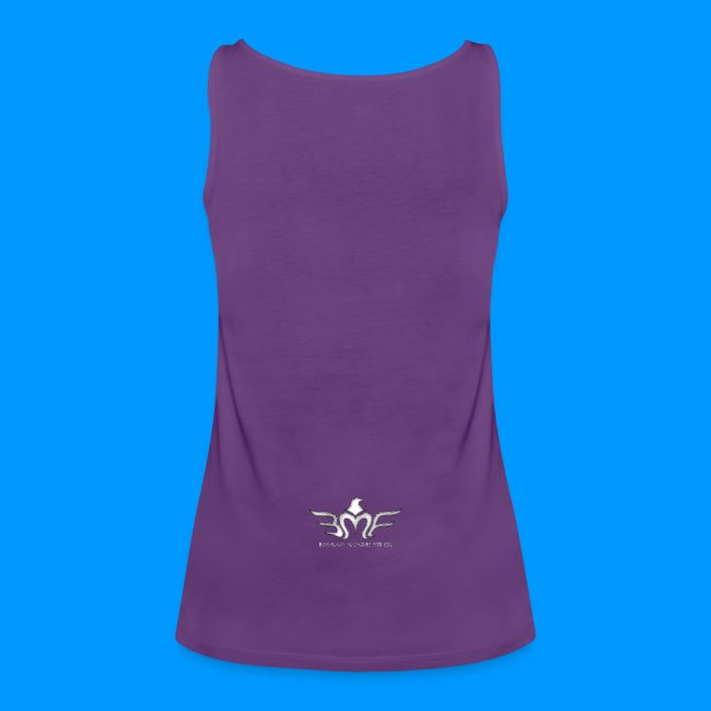 WOMEN'S IDM - TANK W/ LOGO ON BACK
