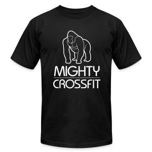 Mighty T-Shirt - Black (Mens) - Men's Fine Jersey T-Shirt