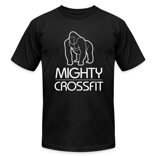 Mighty T-Shirt - Black (Mens) - Men's Fine Jersey T-Shirt