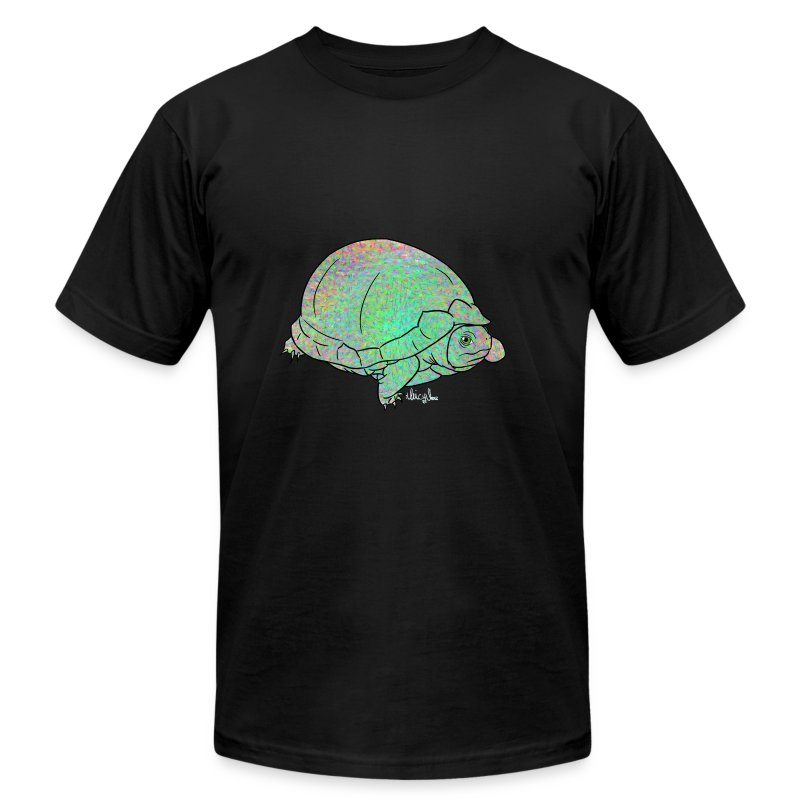 Trippy turtle t shirt spreadshirt for Turtle t shirts online