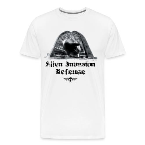 Alien Invasion Defender 5 - Men's Premium T-Shirt