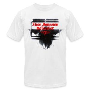 Alien Invasion Defender 3 - Men's Fine Jersey T-Shirt