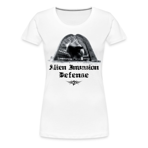 Alien Invasion Defender 5 - Women's Premium T-Shirt