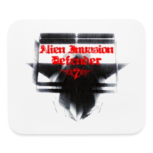 Alien Invasion Defender 3 - Mouse pad Horizontal