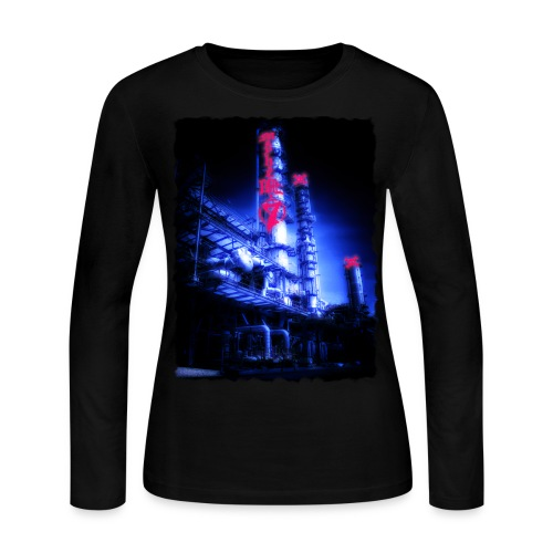 Chemical Plant - Women's Long Sleeve Jersey T-Shirt