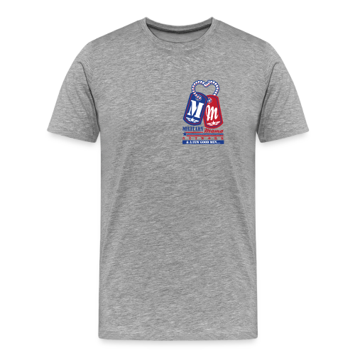 Military Mama Network Men's Official T-Shirt - Men's Premium T-Shirt