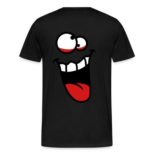 Born Crazy  - Men's Premium T-Shirt
