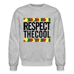 Respect The Cool Mens Crewneck - Crewneck Sweatshirt