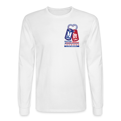 Military Mama Network Men's Long Sleeve Shirt - Men's Long Sleeve T-Shirt