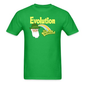 Evolution - it's Naturally Selective - Men's T-Shirt