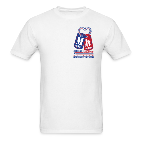 Military Mama Network White Official T-Shirt - Men's T-Shirt