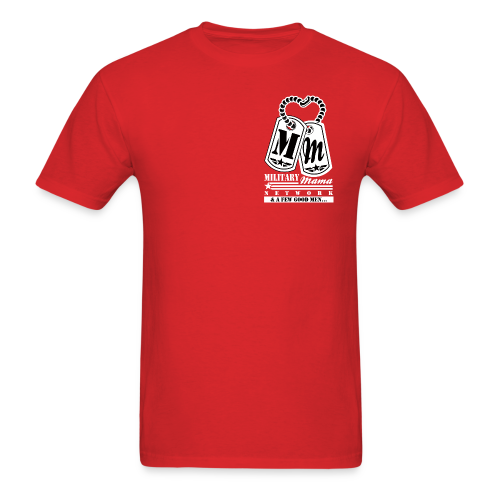Military Mama Network Red Official T-Shirt - Men's T-Shirt