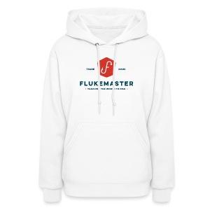 Women's Flukemaster Hoodie: LIGHT SHIRT logo - Women's Hoodie