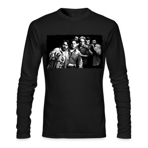 Wow Hey - Men's Long Sleeve T-Shirt by Next Level
