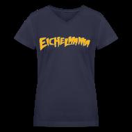 Women's T-Shirts ~ Women's V-Neck T-Shirt ~ Eichelmania