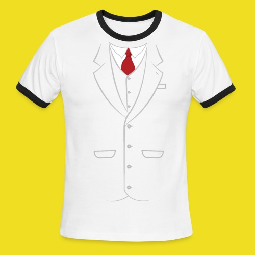 Fancy Suit - Men's Ringer T-Shirt