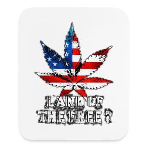 Land of the Free - Mouse pad Vertical