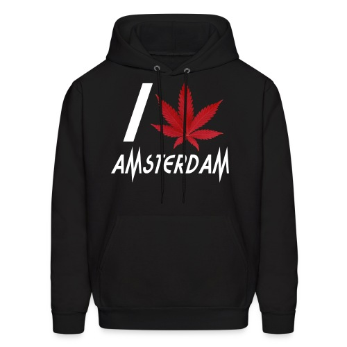 I Love Amsterdam - Men's Hoodie