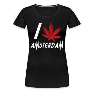 I Love Amsterdam - Women's Premium T-Shirt