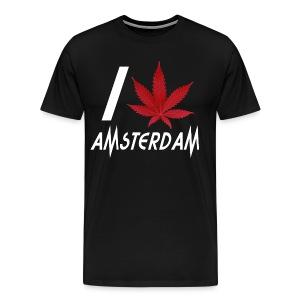 I Love Amsterdam - Men's Premium T-Shirt