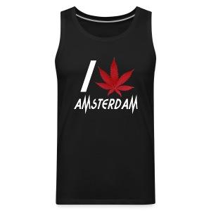 I Love Amsterdam - Men's Premium Tank