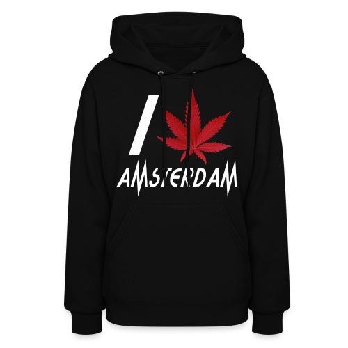 I Love Amsterdam - Women's Hoodie