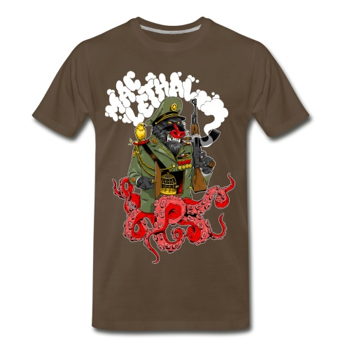 Mac Lethal War Baboon T-Shirt - Men's Premium T-Shirt