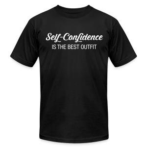 Self Confidence T-Shirt - Men's Fine Jersey T-Shirt