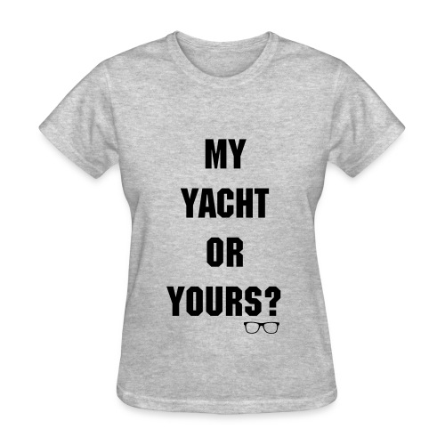 Who's Yacht? Women's Crew Neck Tee - Women's T-Shirt