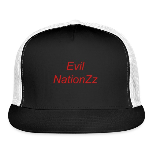 Evil NaationZz Trucker Back - Trucker Cap