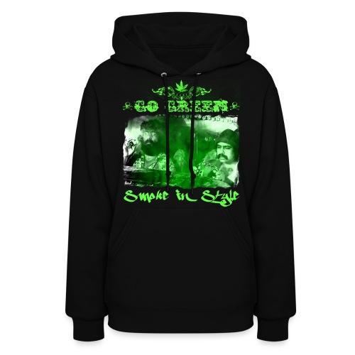 Go Green 3 - Women's Hoodie