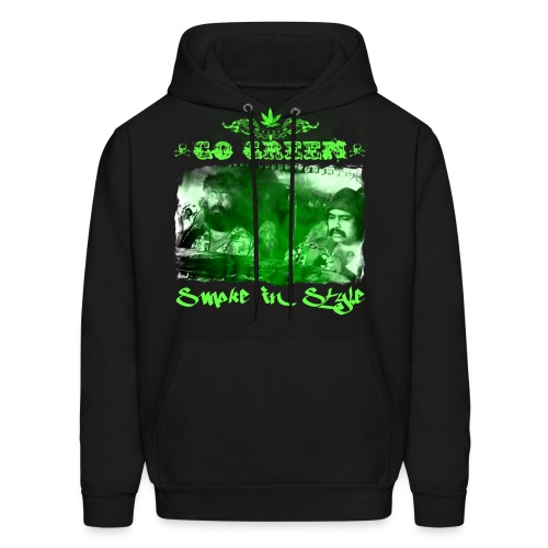 Go Green 3 - Men's Hoodie