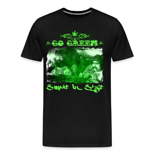 Go Green 3 - Men's Premium T-Shirt