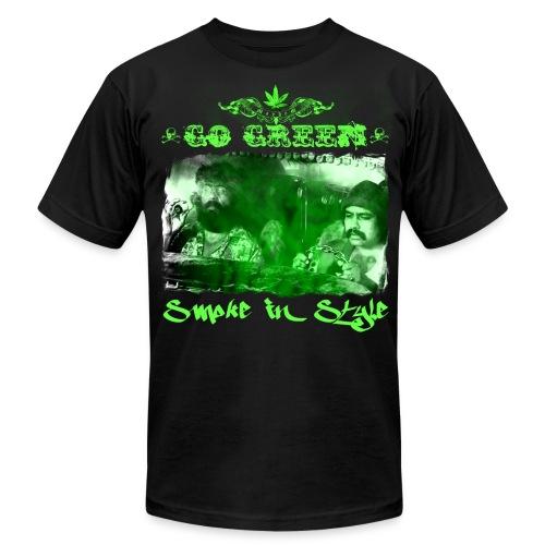 Go Green 3 - Men's Fine Jersey T-Shirt
